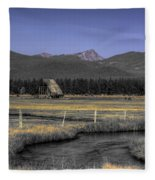 Barn Fleece Blanket