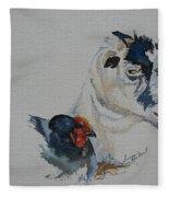 Barnyard Buddies Fleece Blanket