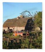 Barnyard Fleece Blanket