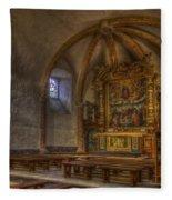 Baroque Church In Savoire France 3 Fleece Blanket