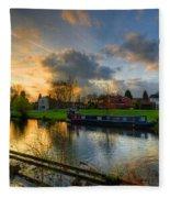 Barrow Sunset Fleece Blanket