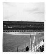 Baseball Game, C1912 Fleece Blanket