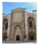 Basilica Of Saint Mary Madalene Fleece Blanket