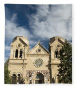 Basilica Of St Francis Fleece Blanket
