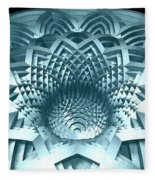 Basket Of Hyperbolae 02 Fleece Blanket
