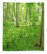 Baton Rouge Blueonnet Swamp  La Fleece Blanket