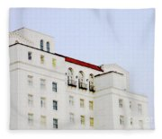 Baton Rouge Hilton Fleece Blanket