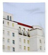 Baton Rouge Hilton Fleece Blanket