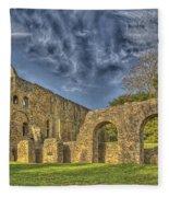 Battle Abbey Ruins Fleece Blanket