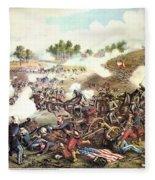 Battle Of Bull Run, 1861 Fleece Blanket