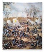 Battle Of Fort Donelson Fleece Blanket