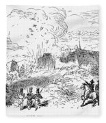 Battle Of Fort Erie, 1814 Fleece Blanket