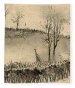 Battle Of Kernstown, 1862 Fleece Blanket
