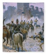 Battle Of Solferino And San Martino Fleece Blanket