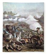 Battle Of Winchester, Fleece Blanket