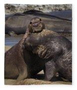 Battle On Fleece Blanket