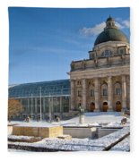 Bavarian State Chancellery Fleece Blanket