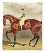Bay Middleton Winner Of The Derby In 1836 Fleece Blanket