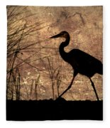 Bayou Walk Fleece Blanket