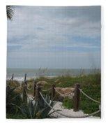 Beach Access Fleece Blanket