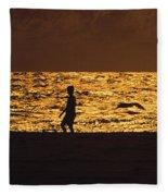 Beach Boy Fleece Blanket