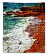 Beach Fantasy Fleece Blanket