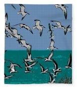 Beach Flight Fleece Blanket