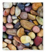 Beach Rocks 1 Fleece Blanket