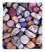 Beach Rocks 2 Fleece Blanket