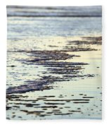 Beach Water Fleece Blanket