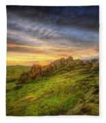 Beacon Hill Sunrise 9.0 Fleece Blanket