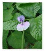 Bean Bloom Fleece Blanket