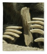 Bear Claws Fleece Blanket