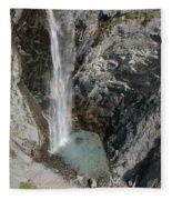 Bear Creek Falls Fleece Blanket