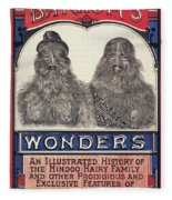 Bearded Family, 1887 Fleece Blanket