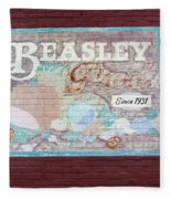 Beasley Produce Since 1931 Fleece Blanket
