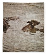 Beast Of Burden Fleece Blanket