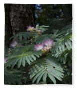 Beautiful Alabama Mimosa Silk Tree Fleece Blanket