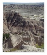 Beautiful Badlands Fleece Blanket