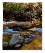 Beautiful Stream Fleece Blanket