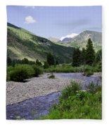 Beautiful Vail - Colorado Fleece Blanket