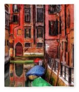 Beautiful Venice Fleece Blanket