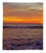 Beautiful Waves Fleece Blanket