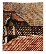 Beauty Of Dubrovnik 2 Fleece Blanket