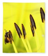 Bee A Little Different Fleece Blanket