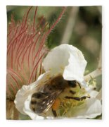 Bee Break Fleece Blanket