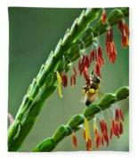 Bee Time Fleece Blanket