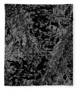 Beech Tree Digital Art Fleece Blanket