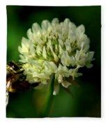 Beeflower2 Fleece Blanket