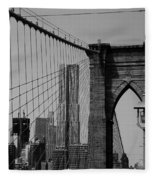 Beekman Tower Fleece Blanket